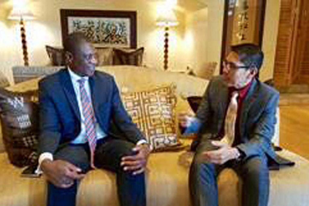 Maliki kunjungi Afrika Selatan, Namibia