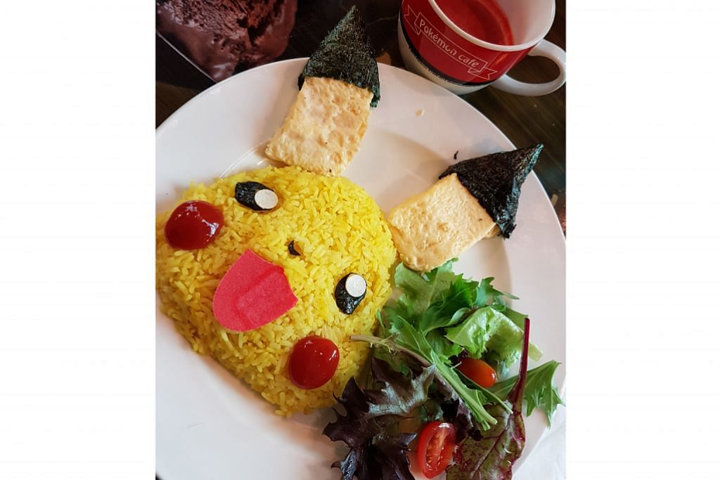Hidangan Pokemon Sun, Pokemon Moon di kafe Pokemon