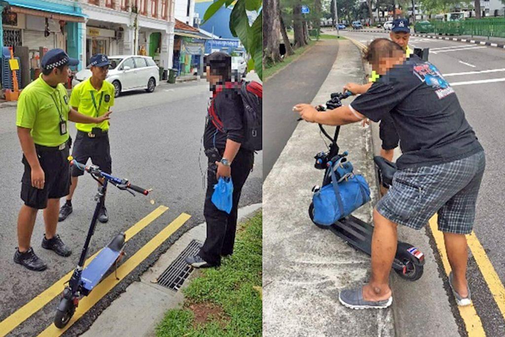 LTA rampas 20 e-skuter selepas pengguna didapati bersalah tunggang di jalan raya