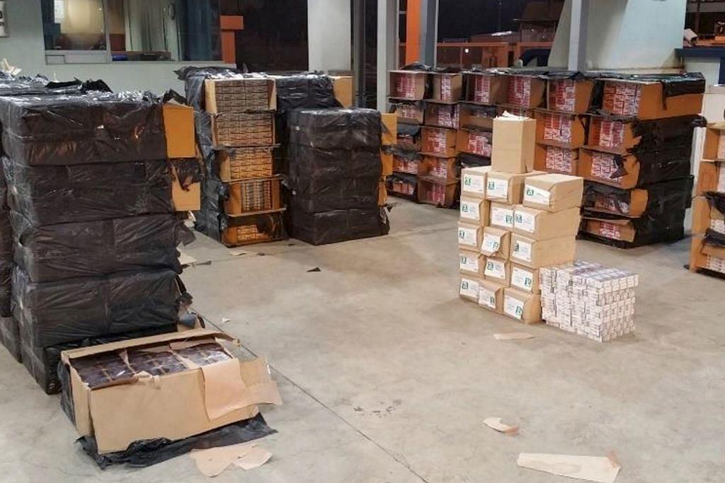 ICA tahan lelaki China yang cuba seludup 4,500 karton rokok