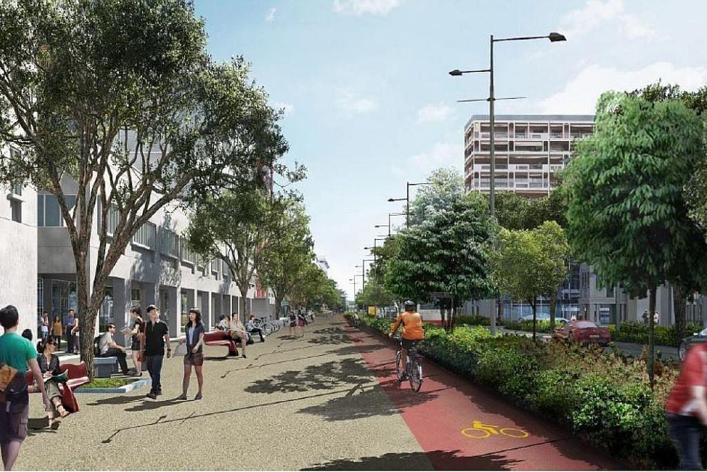 Lebih seronok jalan kaki dan tunggang basikal di Bencoolen Street tahun depan