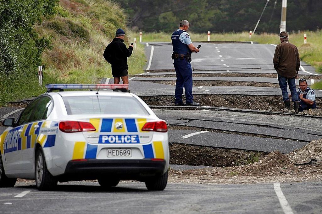2 maut dalam gempa New Zealand
