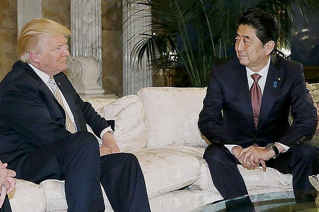 Abe temui Trump bangunkan hubungan