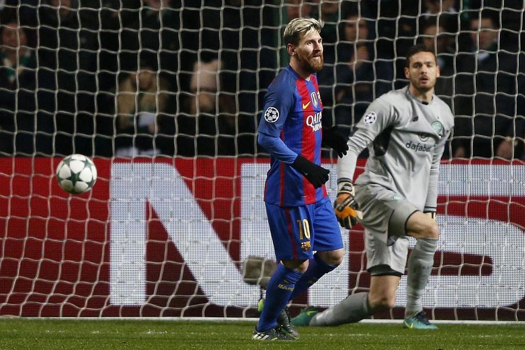 LIGA JUARA-JUARA Pengurus Celtic puji kecemerlangan Messi