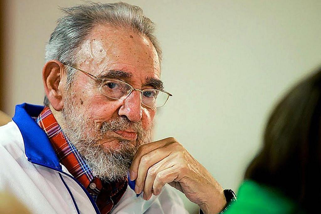 Bekas Presiden Cuba Fidel Castro meninggal dunia