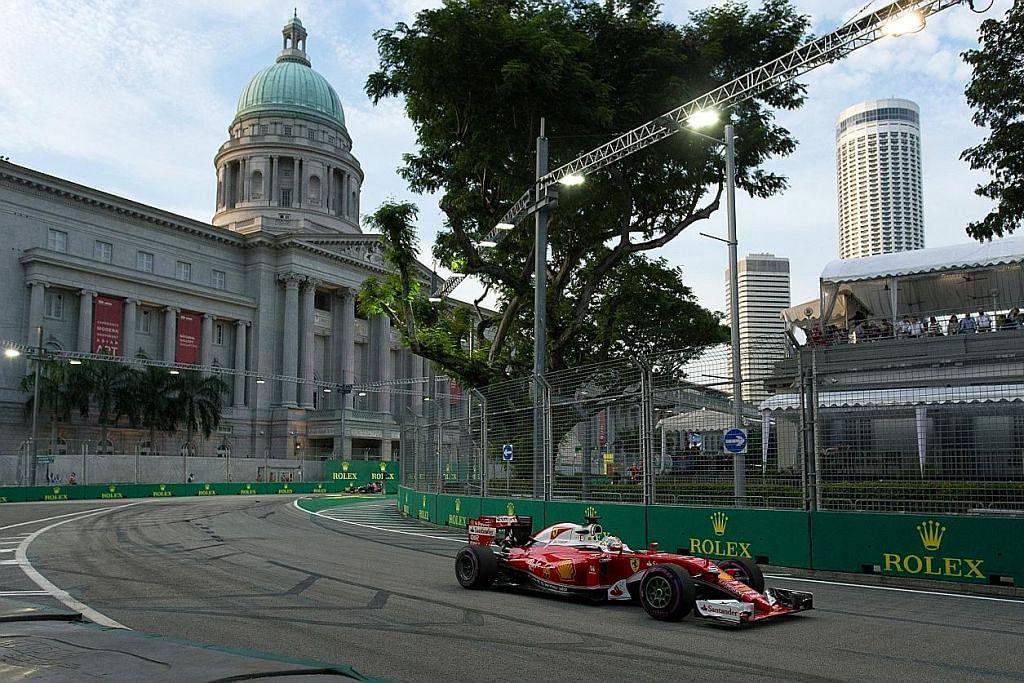 GP Singapura musim depan 15 hingga 17 September FORMULA SATU