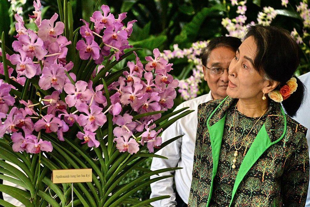 Suu Kyi lawat pameran Myanmar di Muzium Tamadun Asia