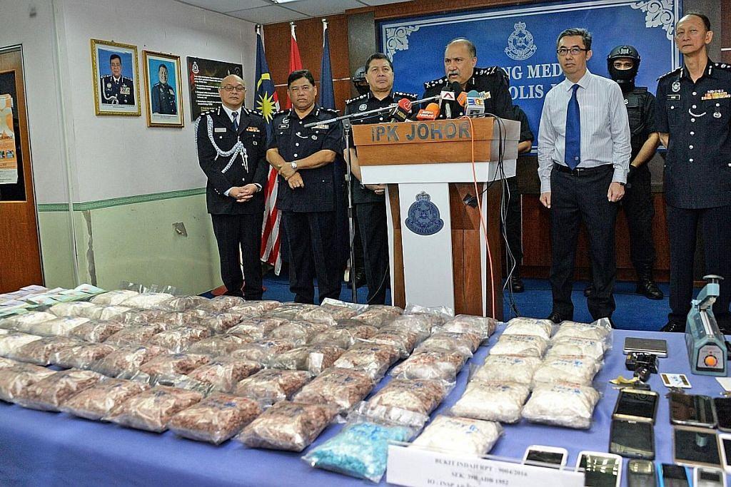 Polis M'sia, CNB ganding bahu tumpas sindiket dadah