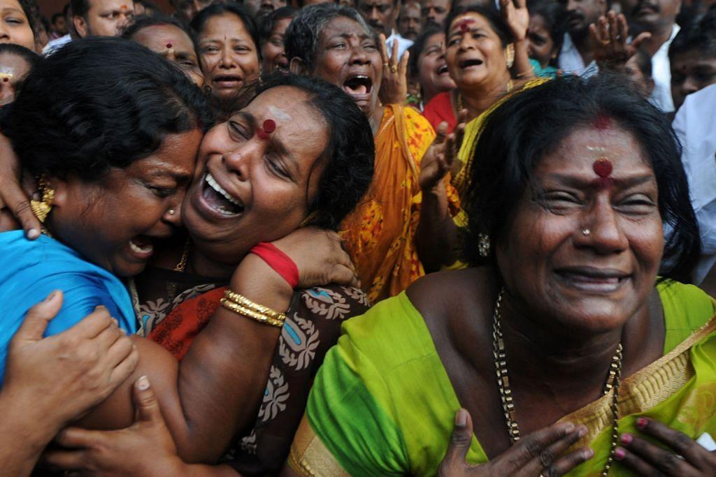 Ketua Menteri Tamil Nadu meninggal dunia