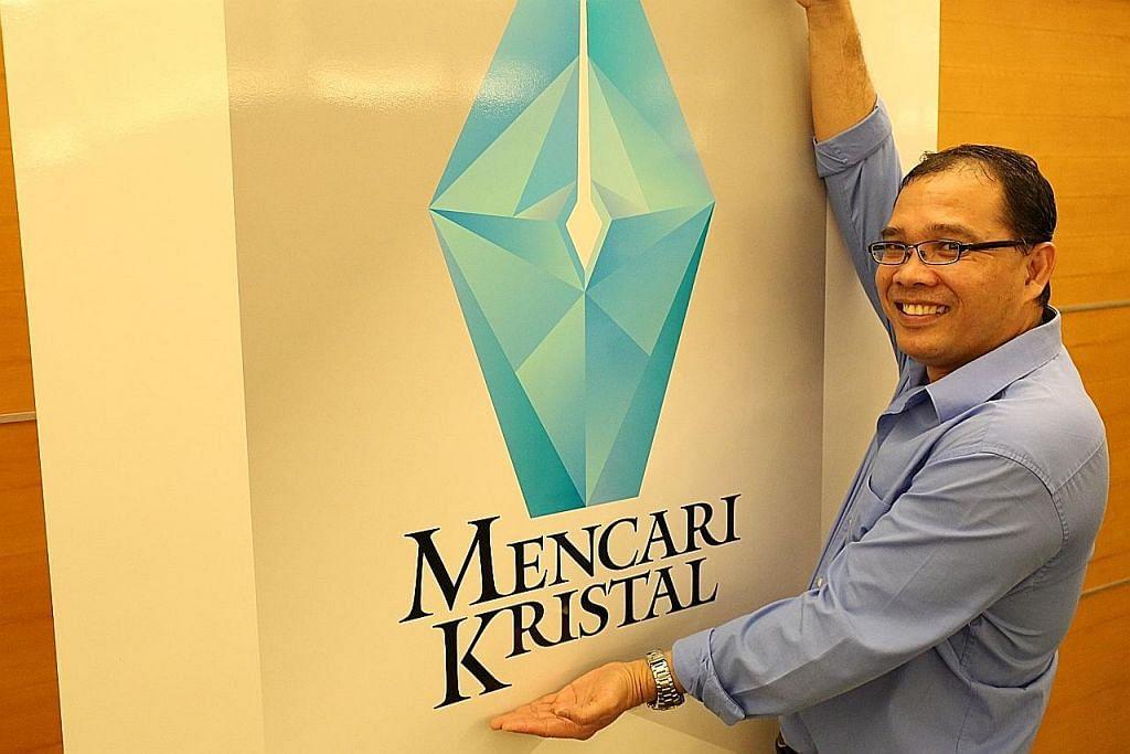 Guru pemenang Mencari Kristal