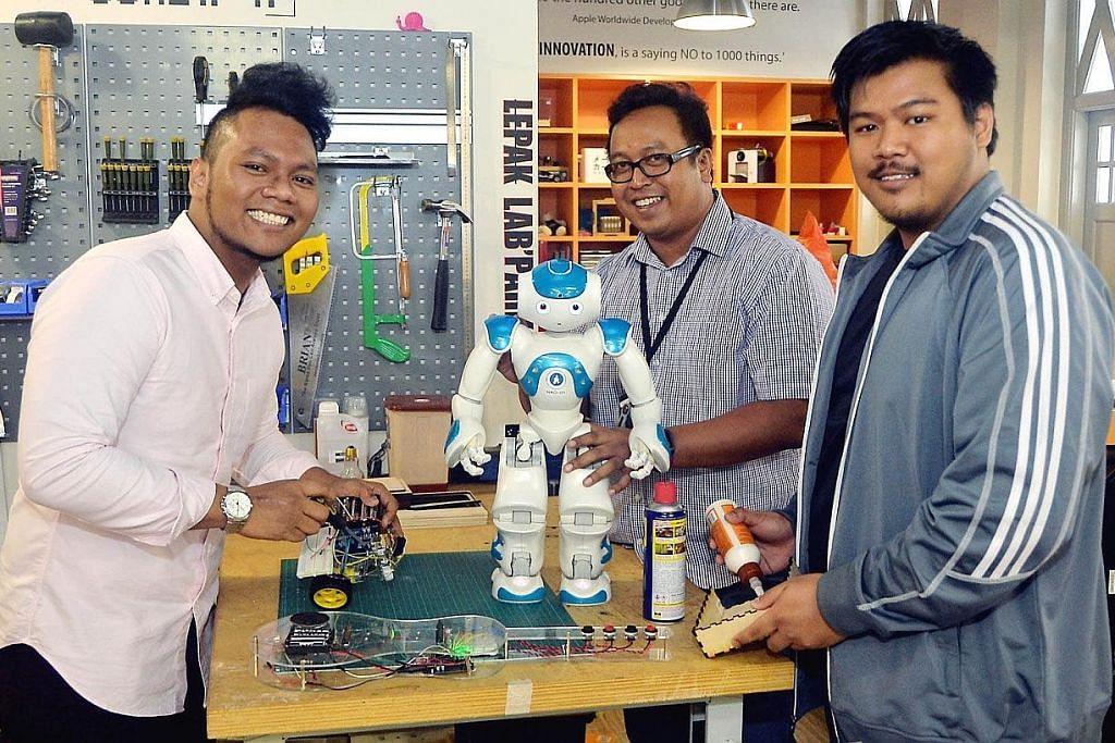 Didorong visi sebarkan ilmu robotik kepada anak muda Melayu
