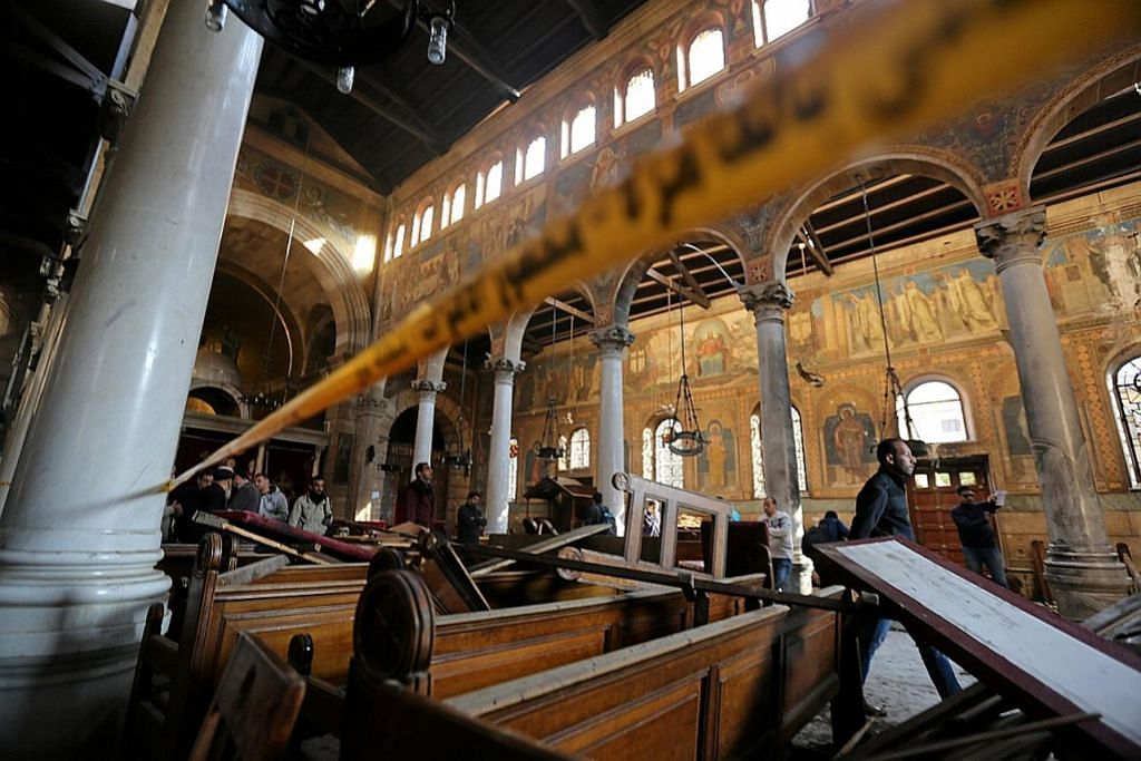 Ratusan warga Mesir berontak tuntut keadilan ekoran letupan SERANGAN GANAS