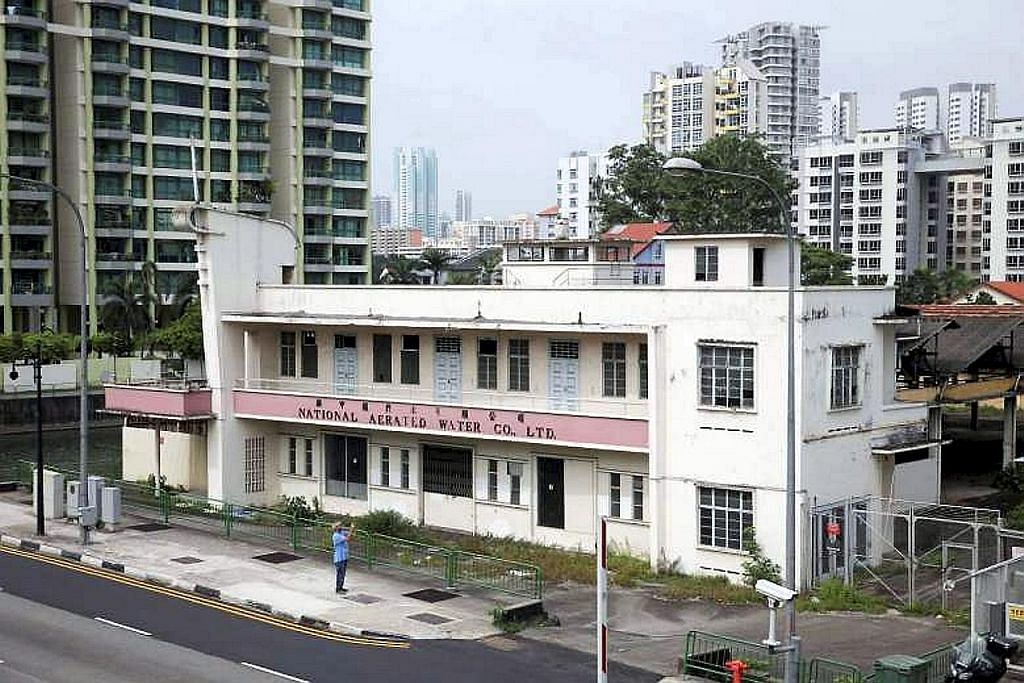 URA rancang kekalkan bangunan pembotolan air National Aerated Water Company