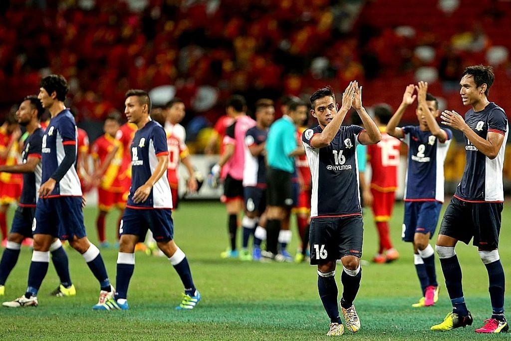 Tampines perlu berdepan Felda United di M'sia PIALA AFC