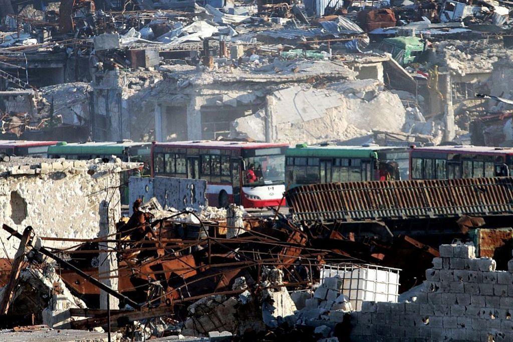 Penduduk mula dibenar tinggalkan Aleppo
