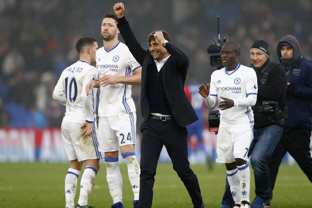 Conte izin pemain 'terbang' sebelum tumpu usaha catat kemenangan ke-12 LIGA PERDANA ENGLAND