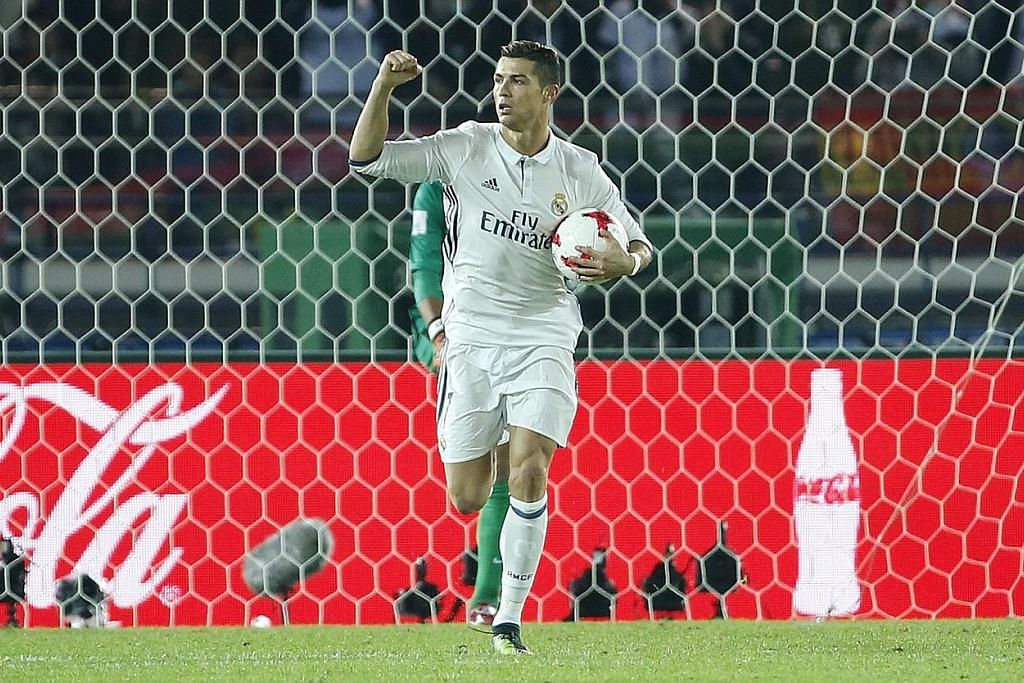 Ronaldo raih pemain terbaik dalam Anugerah Bola Sepak Dunia Ketujuh