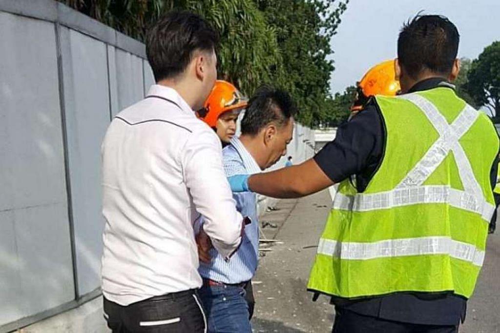 Lim Chai Heng (tengah) kini menghadapi tuduhan pindaan yang membawa hukuman maksimum lebih berat.