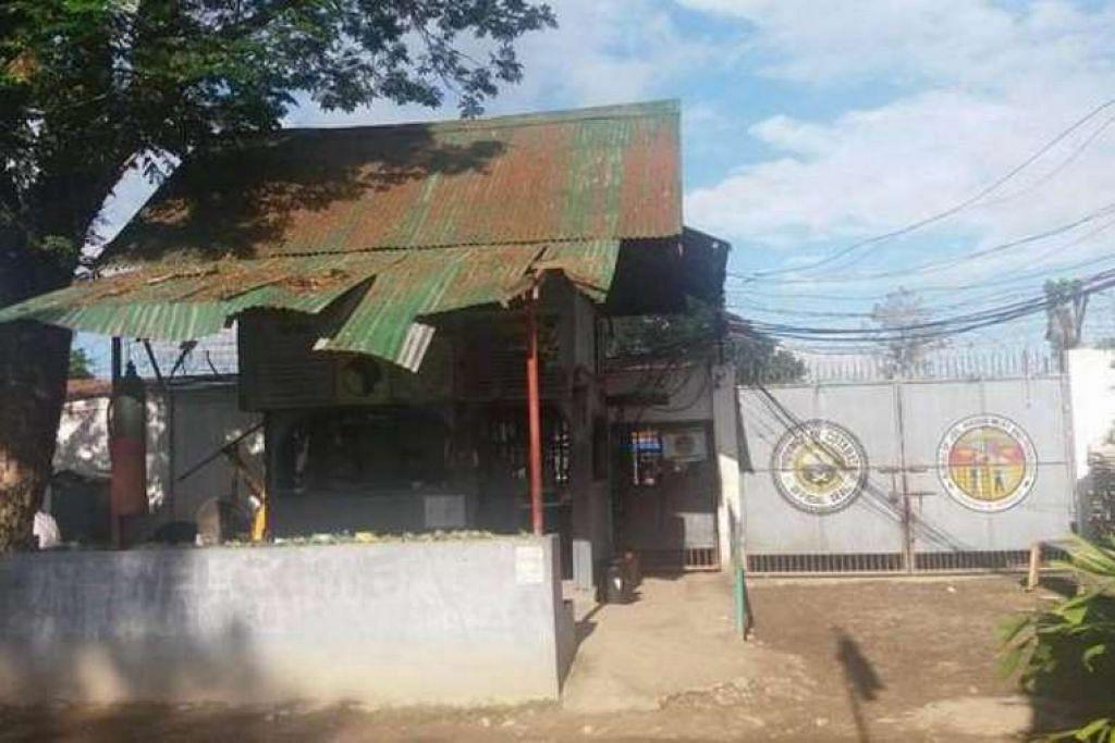Penjara Daerah Cotabato Utara di bandar Kidapawan.