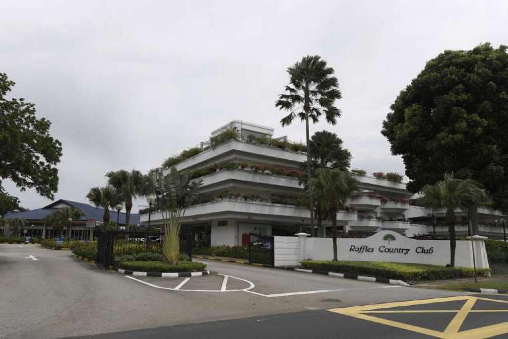 Raffles Country Club berkata ia dikehendaki menyerahkan tapaknya yang seluas 143ha kepada Penguasa Tanah Singapura (SLA) sebelaum 31 Julai 2018.