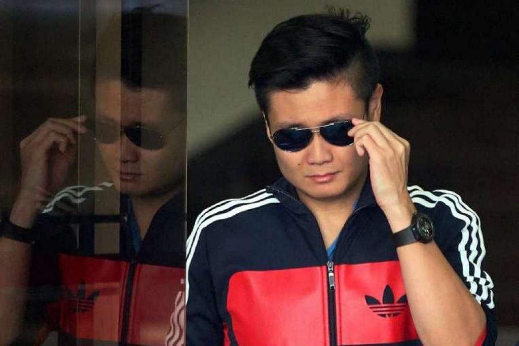 Brandon Ng Hai Chong didakwa memandu kereta secara berbahaya dengan menentang arus lalu lintas di Ekspreswe Ayer Rajah pada awal pagi 5 Han 2017.