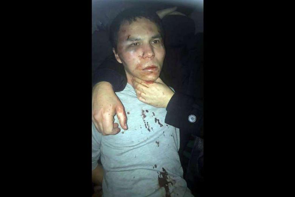 Polis Turkey pada 16 Jan menangkap penyerang yang menembak mati 39 orang pada malam Tahun Baru di sebuah kelab malam Istanbul. Penyerang didakwa ditemui bersama anak lelaki berusia empat tahun di sebuah apartmen di daerah Esenyurt di Istanbul selepas operation.