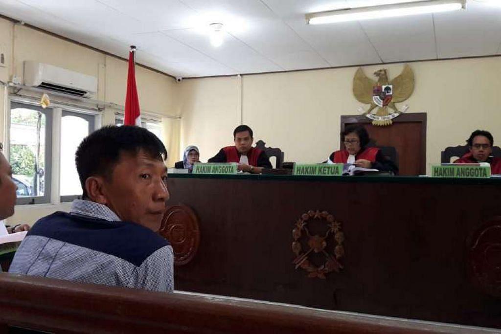 Shoo Chiau Huat, yang ditahan di penjara Tanjung Pinang sejak April tahun lalu, didenda $5,300 selepas mengaku memasuki Indonesia tanpa izin.