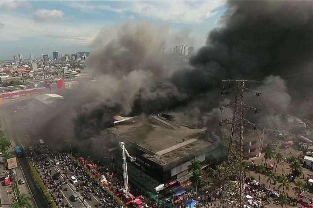 Kebakaran di Pasar Senen, Jakarta