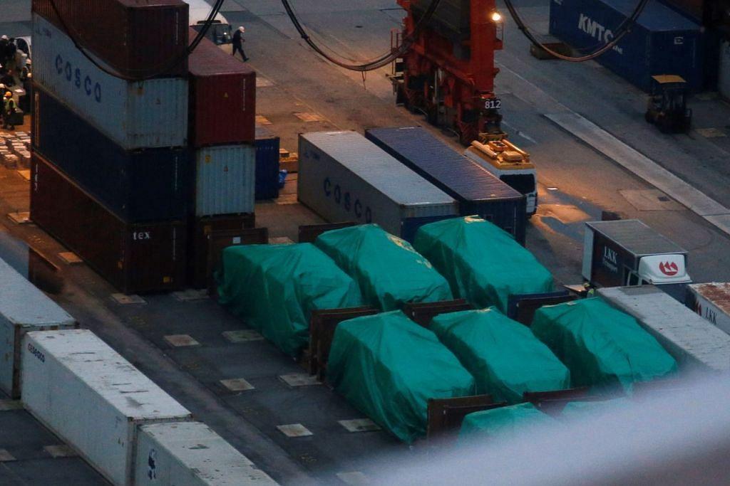 Hongkong akan pulangkan kenderaan Terrex yang ditahan sejak 23 Nov ke pangkuan Singapura.