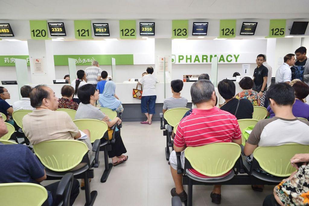 Banyak klinik dibuka semasa perayaan Tahun Baru Cina.
