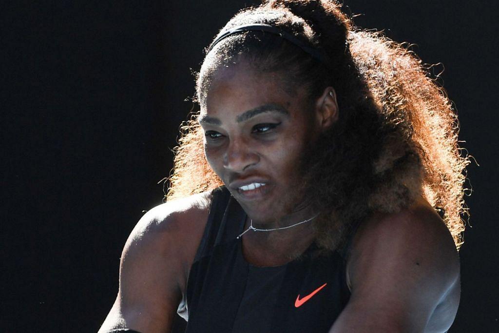 SERENA: Kini memburu rekod gelaran juara Grand Slam ke-23. – Foto AFP