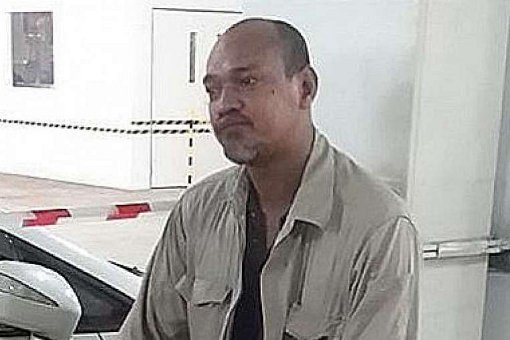 Encik Hajni, kelihatan dalam gambar yang dipos di halaman Facebook rakan sekerjanya, Pok Abu, bersyukur beliau masih hidup.