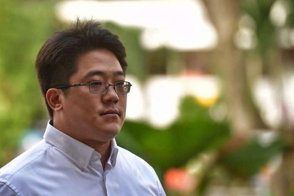 Ong Jenn tiba di Mahkamah Negara pada 3 Feb 2017.