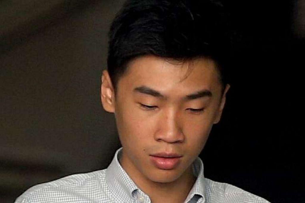 Benjamin Yeo Bing Yuan meminta $4,000 sebagai ganti untuk memadamkan video seks bekas temanitanya.