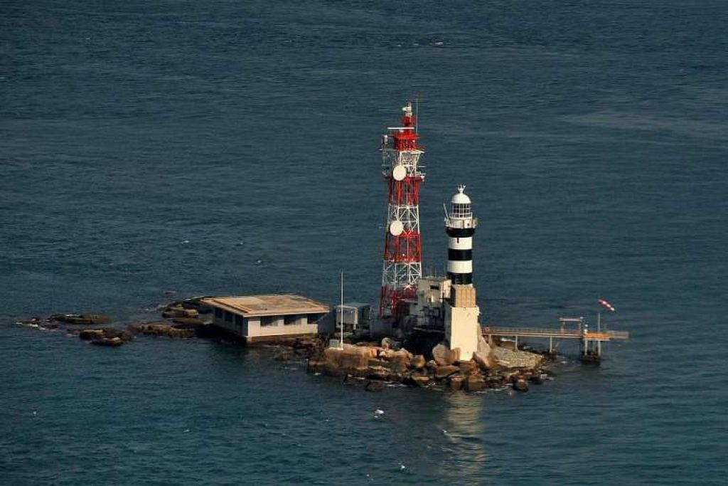 Pulau Pedra Branca pada 2011.