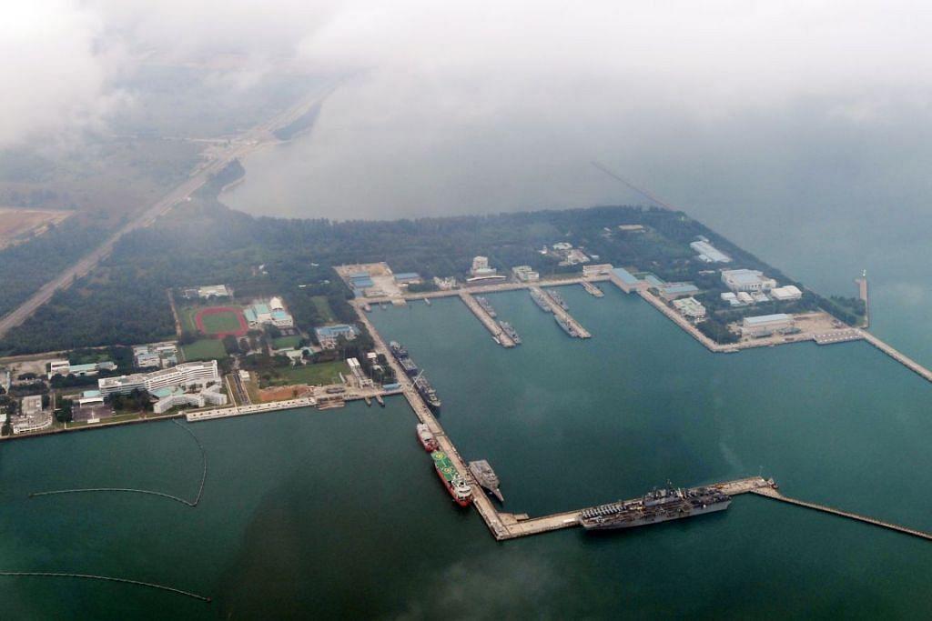 Pangkalan Laut Changi akan dinamakan semula RSS Singapura - Pangkalan Laut Changi.