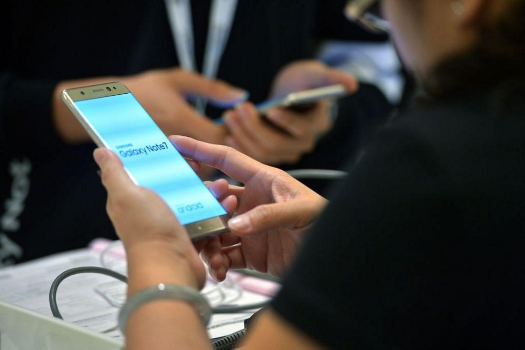 Samsung masih popular meskipun menghadapi masalah dengan model Galaxy Note 7 yang dikeluarkan daripada pasaran ekoran masalah bateri.