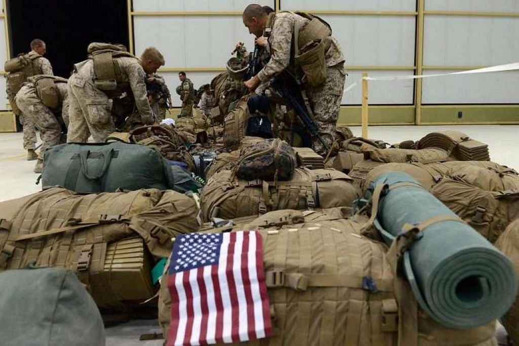 Gambar tentera Amerika di Kandahar, Afghanistan, pada 2014. Jabatan Pertahanan Amerika mungkin mengesyorkan negara itu mengerahkan tentera tempur biasa ke Syria untuk melawan militan Isis.