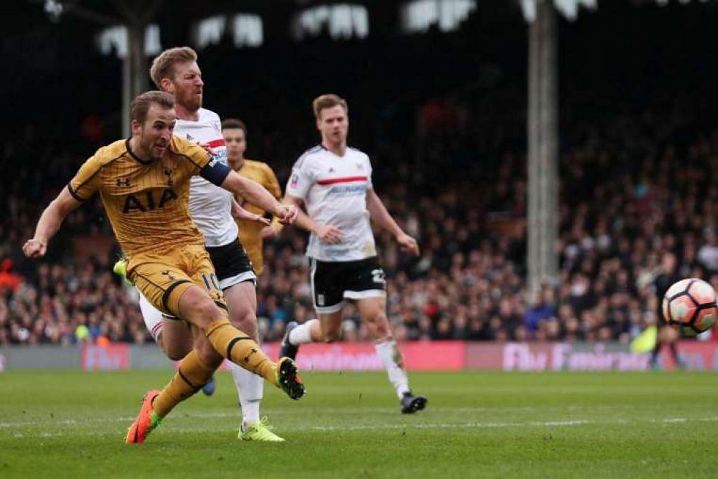 Harry Kane menyumbatkan gol hatrik Tottenham menumpaskan Fulham 3-0 bagi meneruskan langkah ke peringkat selanjutnya dalam piala FA.