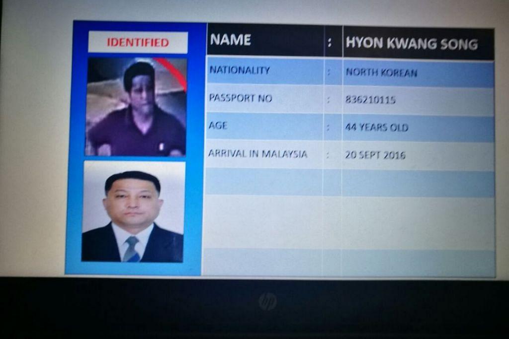 Hyon Kwang Song adalah seorang pegawai di Kedutaan Korean Utara.