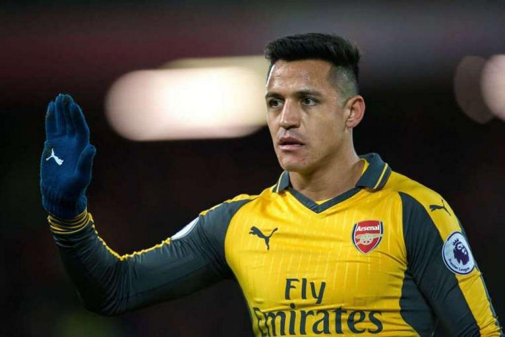 Alexis Sanchez telah menjaringkan 17 gol Arsenal dalam 26 perlawanan liga.