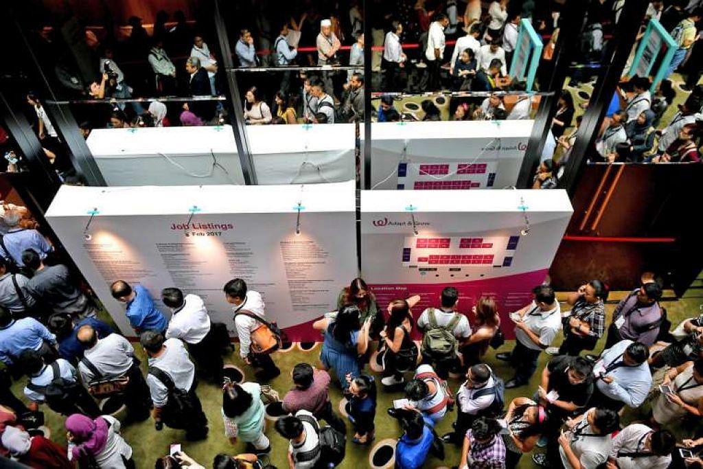 Lebih 2,300 jawatan daripada lebih 40 majikan ditawarkan di pameran kerjaya di Lapangan Terbang Changi menjelang pembukaan Terminal 4 pada akhir tahun ini.