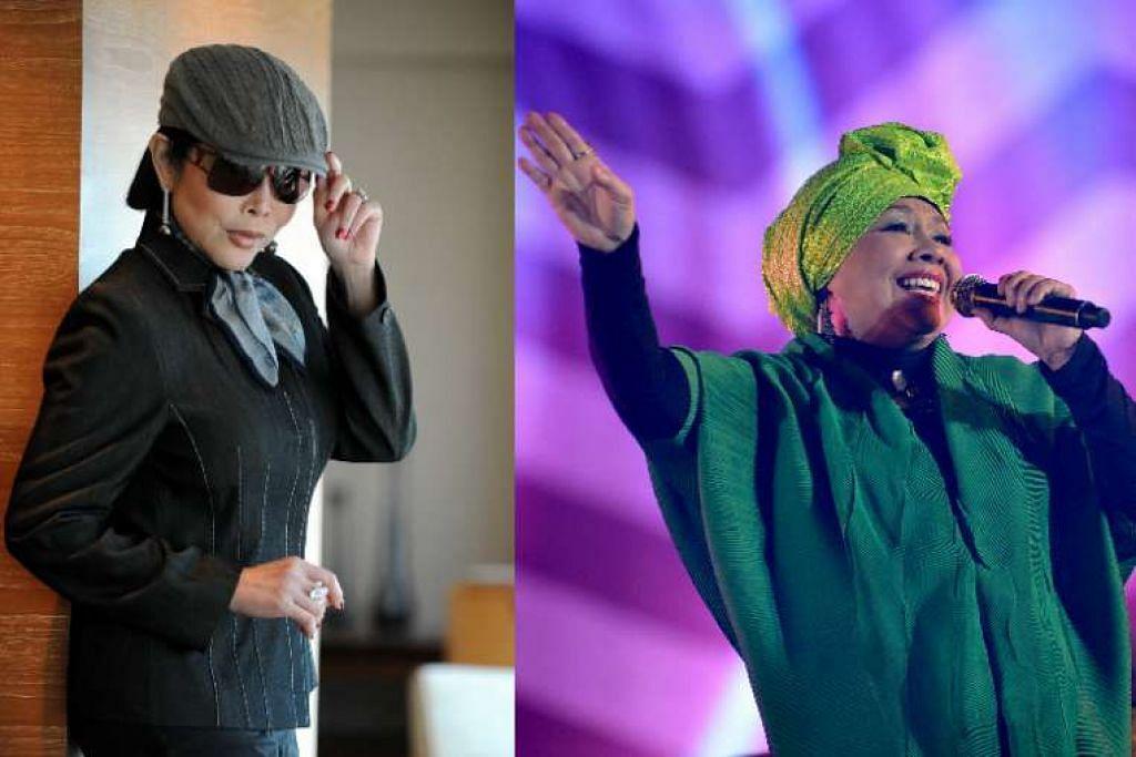 Anita Sarawak dan Rahimah Rahim akan menjadi penyanyi popular pertama dimasukkan ke dalam Dewan Wanita Masyur Singapura (SWHF)