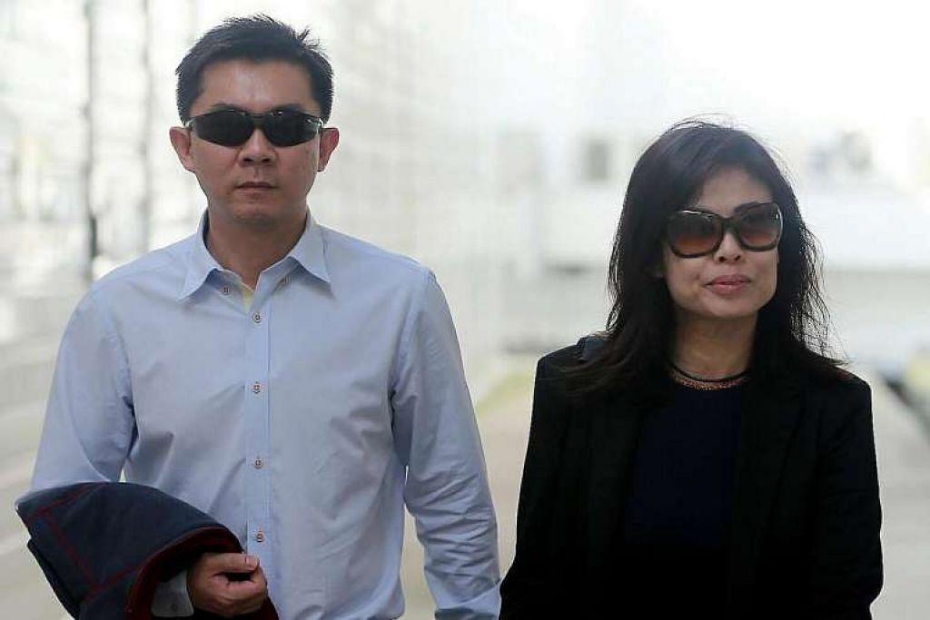 Tay Wee Kiat dihukum penjara 28 bulan sementara isterinya, Chia Yun Ling, dipenjara dua bulan.