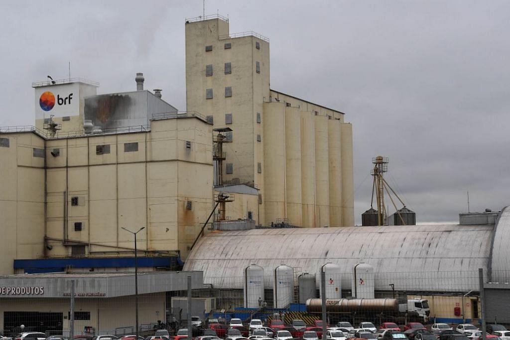 Kilang syarikat BRF di Chapeco, negeri Santa Catarina, Brazil antara yang sedang disiasat bagi skandal rasuah melihatkan sogokan kepada pegawai pemeriksaan untuk mengesahkan daging tercemar sesuai dimakan.