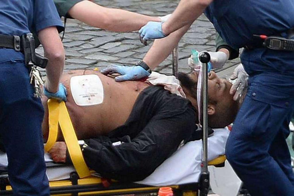 Lelaki ini dikenal pasti dalam laporan media British sebagai Khalid Masood.