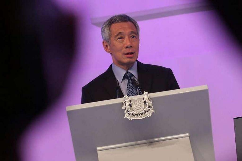 Ia berlaku di mana-mana, tiada orang yang boleh kata ia tidak akan berlaku di Singapura, kata Perdana Menteri  Lee Hsien Loong.
