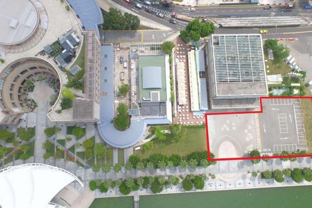 SEMARAK SENI: Sebuah teater bersaiz sederhana yang memuatkan 550 tempat duduk bakal dibangunkan dengan kos $30 juta dan bakal dibuka pada 2021. - Foto ihsan ESPLANADE – THEATRES ON THE BAY