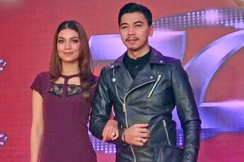 AKAN TEMUI PEMINAT: Pasangan suami isteri selebriti Malaysia ini, Amar dan Amyra, akan hadir dalam acara amal dua hari anjuran Doktor Kereta Pte Ltd. – Foto fail