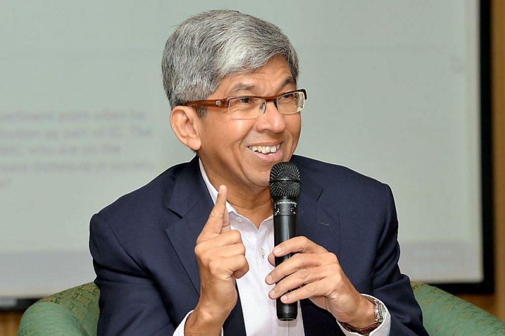 DR YAACOB: Rakyat Singapura memerlukan minda ingin tahu dan minat menghasilkan sesuatu. – Foto fail